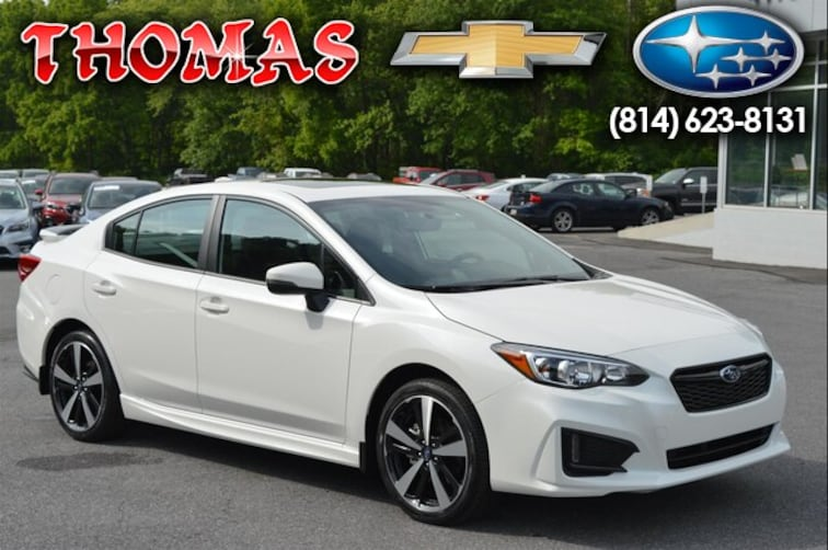 New 2019 Subaru Impreza 2.0i Sport Sedan SA620585 For Sale/Lease Bedford, PA