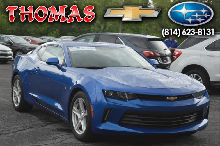 Used 2016 Chevrolet Camaro 1LT Coupe UA175879 in Bedford PA