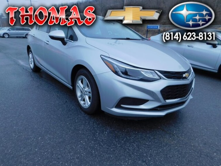 Used 2018 Chevrolet Cruze LT Auto Hatchback UM614816 in Bedford PA