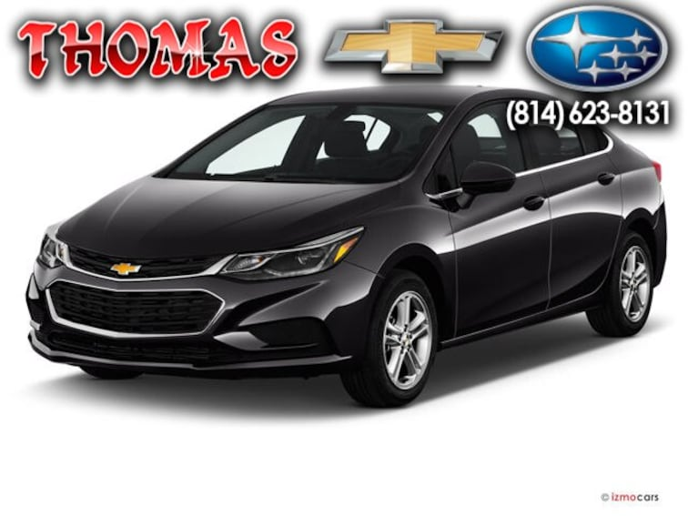 Certified Pre Owned 2018 Chevrolet Cruze LT Auto Sedan UA172179 Bedford PA