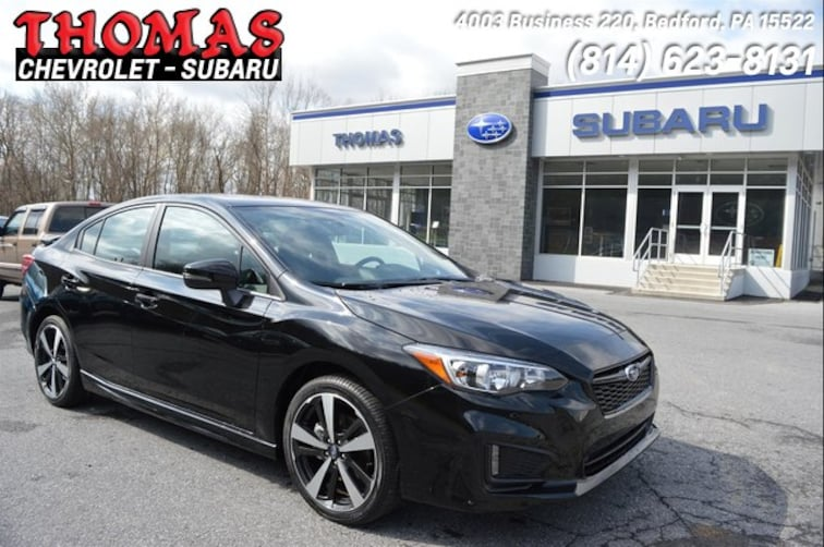 New 2019 Subaru Impreza 2.0i Sport Sedan SA615815 For Sale/Lease Bedford, PA
