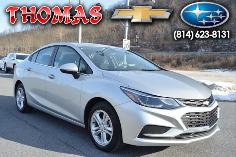 Used 2018 Chevrolet Cruze LT Auto Sedan UA190856 in Bedford PA