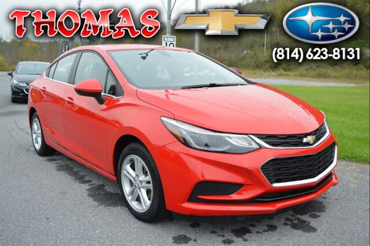 Used 2017 Chevrolet Cruze LT Auto Sedan UA518094 in Bedford PA