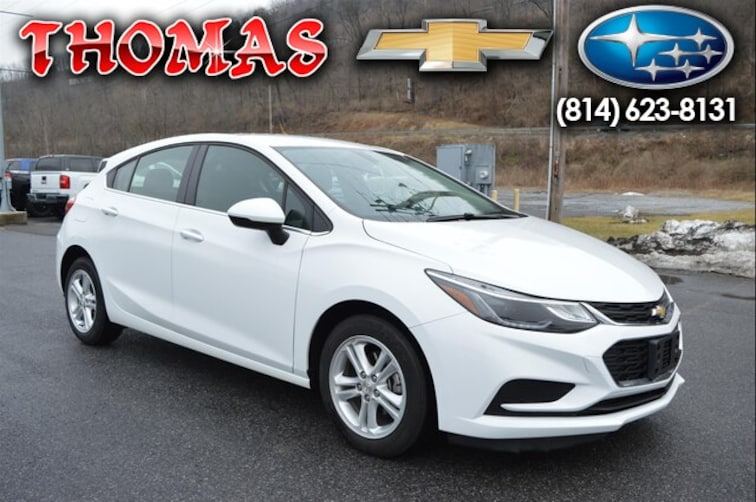 Used 2018 Chevrolet Cruze LT Auto Hatchback UA627720 in Bedford PA