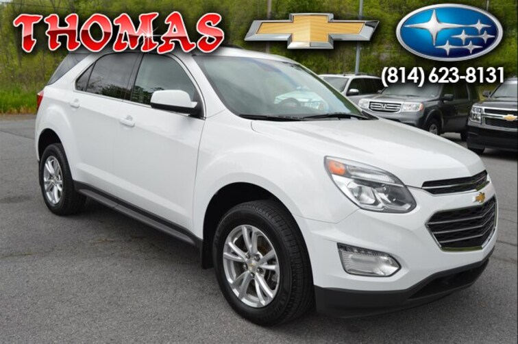 Used 2017 Chevrolet Equinox LT SUV UA239506 in Bedford PA