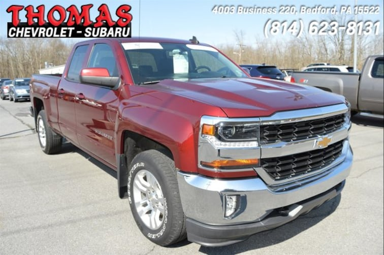 Used 2016 Chevrolet Silverado 1500 LT Truck Double Cab UA339887 in Bedford PA