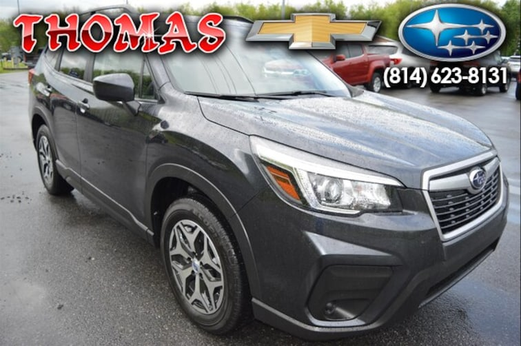 New 2019 Subaru Forester Premium SUV SY511566 For Sale/Lease Bedford, PA