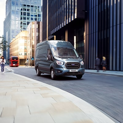 THIS FULL-SIZE VAN IS BUILT FORD TOUGH®