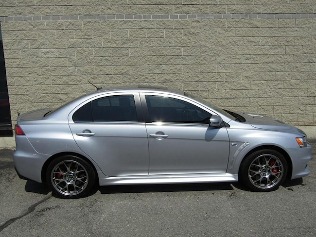 2015 Mitsubishi Lancer Evolution MR Sedan