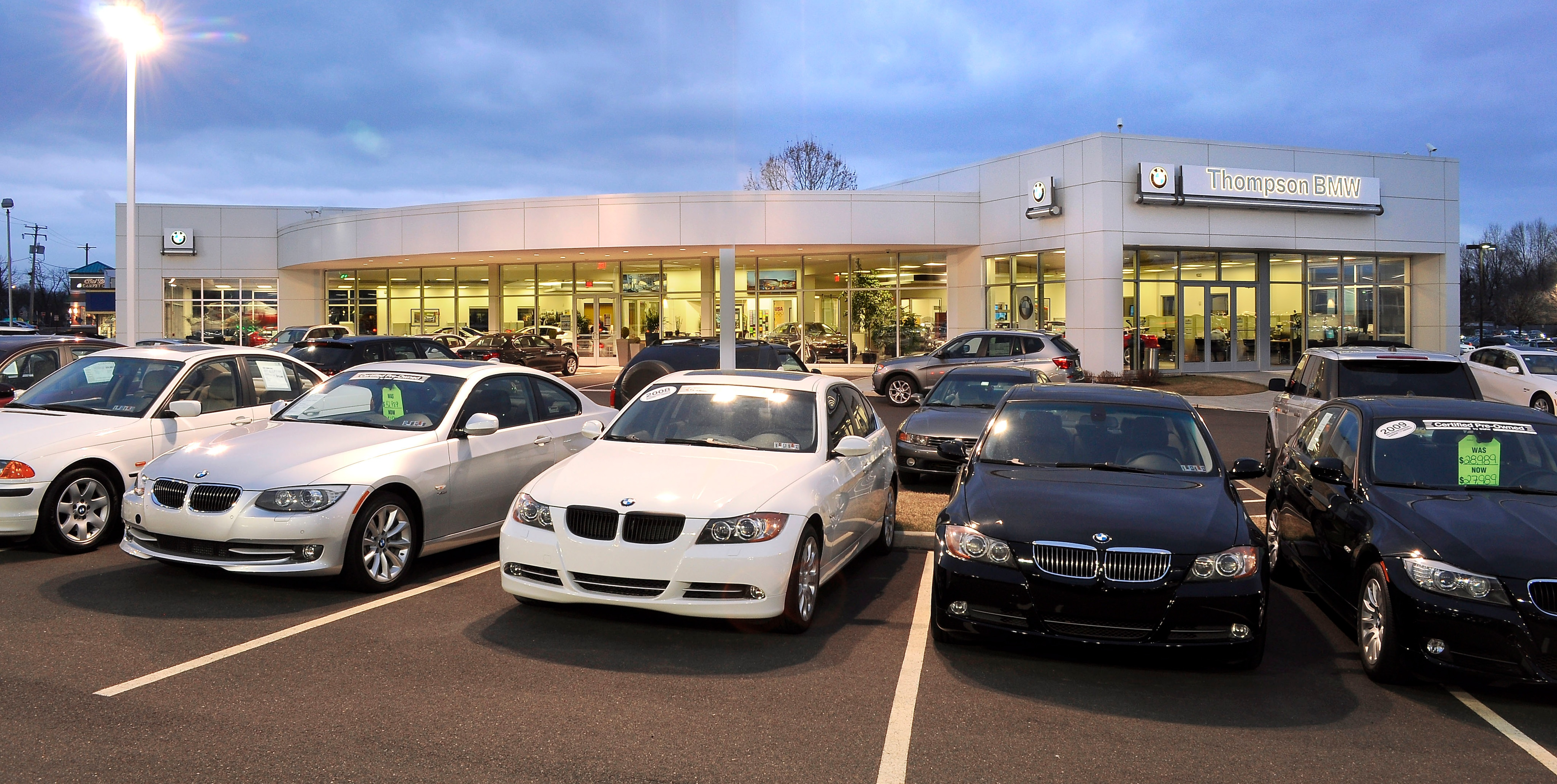 About Thompson Bmw In Doylestown Pa