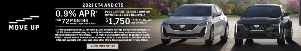 Move Up - 0.9% APR for 72 + $1,750 Purchase Allowance