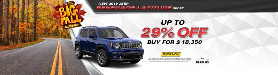 2019 Jeep Renegade Latitude Sport
