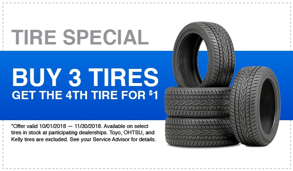 Tire Savings Coupon