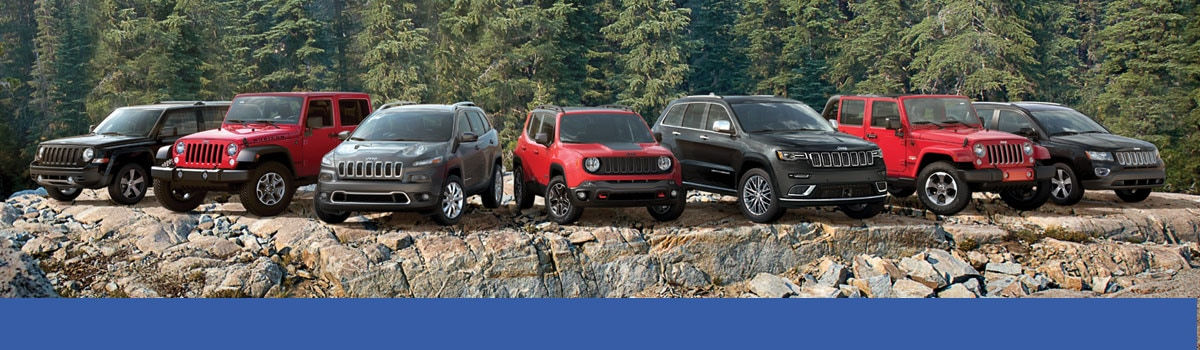 New Jeep Model Lineup