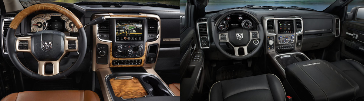 2017 RAM 1500 Vs. 2017 RAM 2500 Interior Comparisons In Baltimore, MD