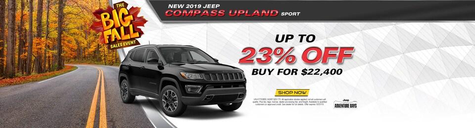 2019 Jeep Compass Upland Sport