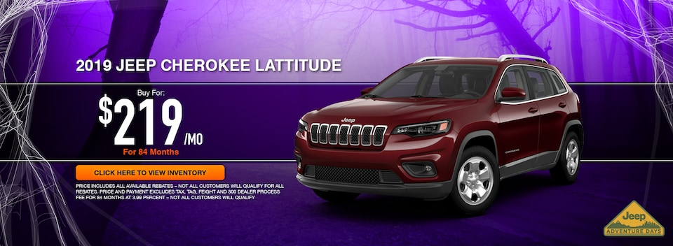 2019 Jeep Cherokee Latitude Special