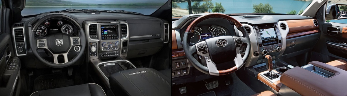 2017 Toyota Tundra vs 2017 Ram 1500 in Baltimore, MD