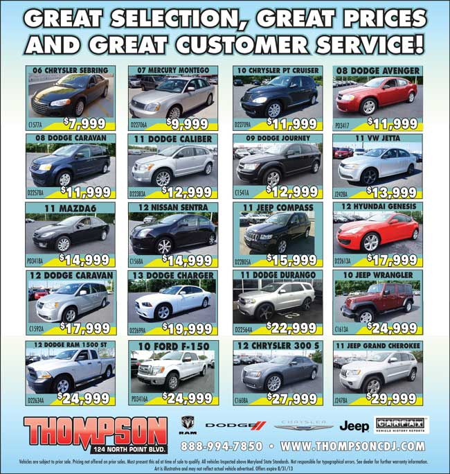 Awesome Contact. Thompson Chrysler Dodge Jeep ...