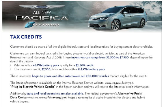 New 2018 Chrysler Pacifica Hybrid For Sale Near Aberdeen Md Bel