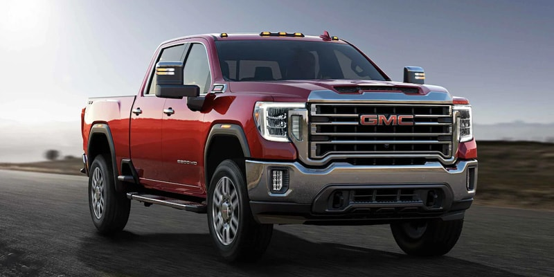 2021 Sierra HD lease offer