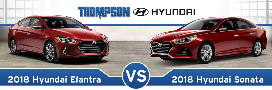 Elantra Vs Sonata >> 2018 Hyundai Elantra Vs 2018 Hyundai Sonata Baltimore Md