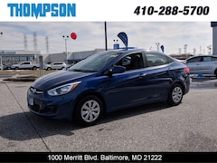 Used 2017 Hyundai Accent SE Sedan under $12,000 for Sale in Baltimore, MD