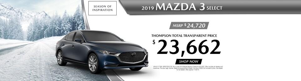 2019 Mazda MAZDA 3  SELECT