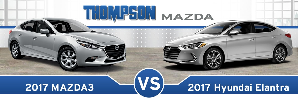 Mazda3 Vs Hyundai Elantra >> 2017 Hyundai Elantra vs 2017 Mazda3 Near Dundalk, MD ...