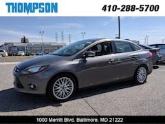 Used 2014 Ford Focus Titanium Sedan under $12,000 for Sale in Baltimore, MD