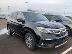 New 2019 Honda Pilot EX-L SUV 5FNYF6H56KB055223 for sale in Terre Haute at Thompson's Honda