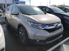 New 2019 Honda CR-V EX SUV 2HKRW2H50KH615803 for sale in Terre Haute at Thompson's Honda