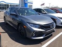New 2019 Honda Civic EX Hatchback SHHFK7H60KU218562 for sale in Terre Haute at Thompson's Honda