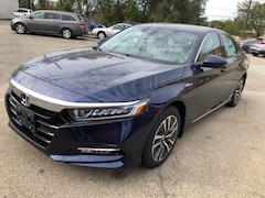 New 2018 Honda Accord Hybrid EX-L Sedan 1HGCV3F56JA015585 for sale in Terre Haute at Thompson's Honda