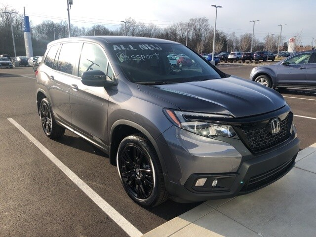 New 2019 Honda Passport Sport Awd For Sale Lease In Terre Haute In