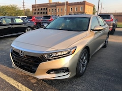 New 2018 Honda Accord EX-L Sedan 1HGCV1F56JA217203 for sale in Terre Haute at Thompson's Honda