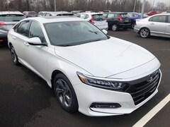 New 2019 Honda Accord EX-L Sedan 1HGCV1F50KA055411 for sale in Terre Haute at Thompson's Honda