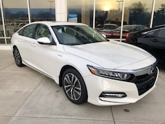 New 2019 Honda Accord Hybrid EX-L Sedan 1HGCV3F57KA003060 for sale in Terre Haute at Thompson's Honda