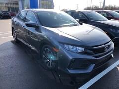 New 2019 Honda Civic LX Hatchback SHHFK7H32KU215233 for sale in Terre Haute at Thompson's Honda