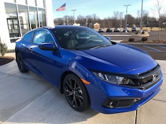 New 2019 Honda Civic Sport Coupe 2HGFC4B86KH302307 for sale in Terre Haute at Thompson's Honda