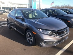 New 2019 Honda Civic LX Sedan 19XFC2F60KE020641 for sale in Terre Haute at Thompson's Honda