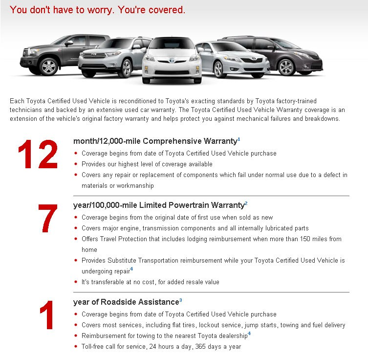 About CPO Toyota Vehicles Toyota Sales Near Warminster - Where is the nearest toyota dealership