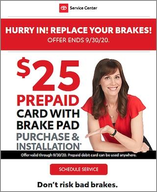 $25 Prepaid Gift Card