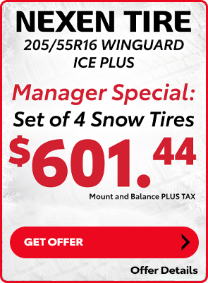 Nexen Winter Tire Special: $601.44 set of 4 Tires