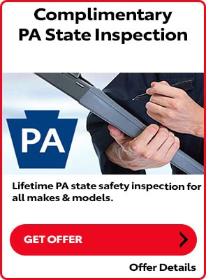 Complimentary PA State Inspection