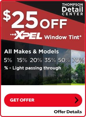 $25 Off XPEL Window Tint