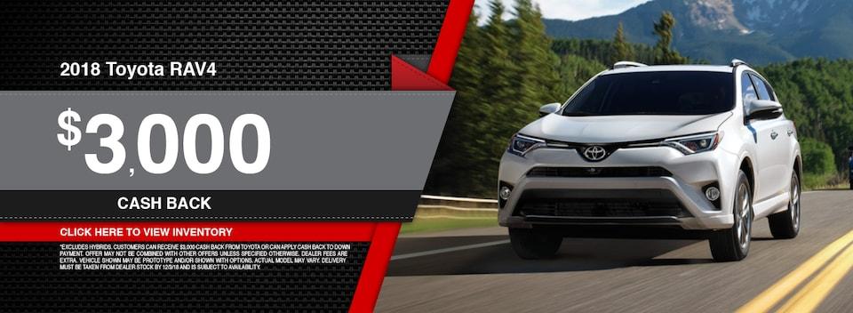 2018 Toyota RAV4 Speial