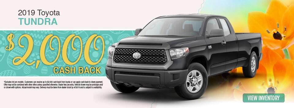 2019 Toyota Tundra Special