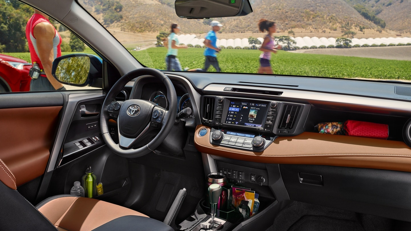 2018 Toyota RAV4 Interior Design