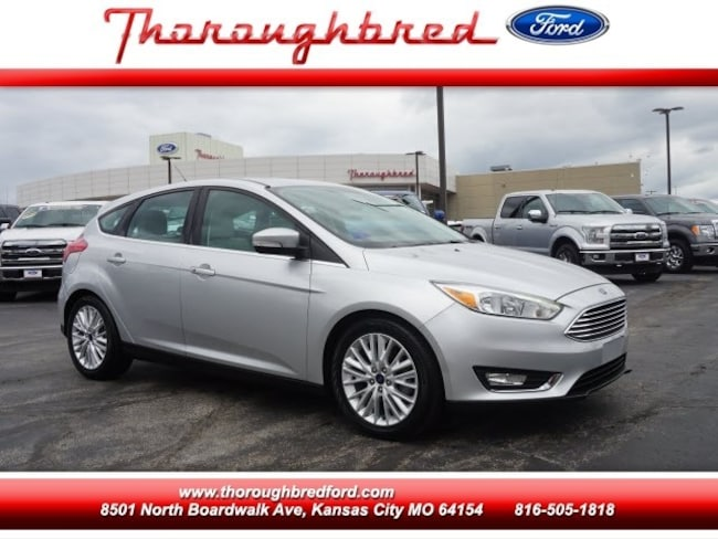 2017 Ford Focus Hatchback Titanium Hatchback